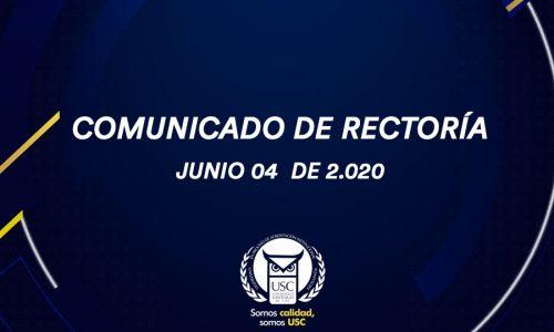 Comunicado Rectoría