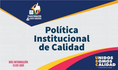 Política Institucional de Calidad
